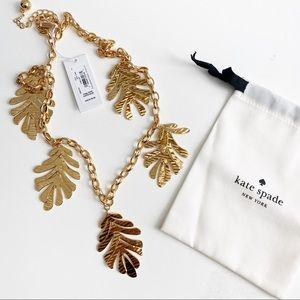 Kate Spade | A new leaf statement necklace